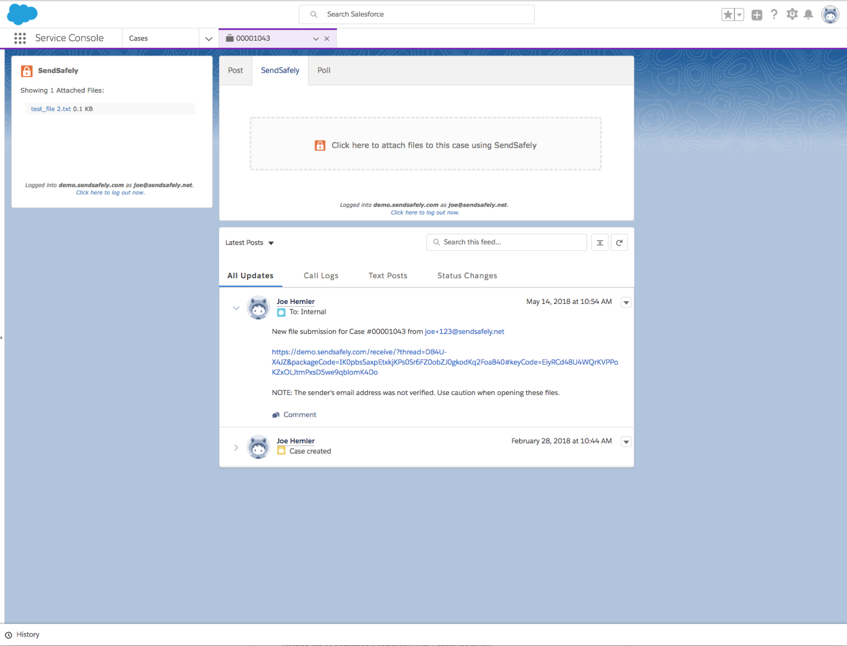 Salesforce - Service Cloud App – Online Help Center